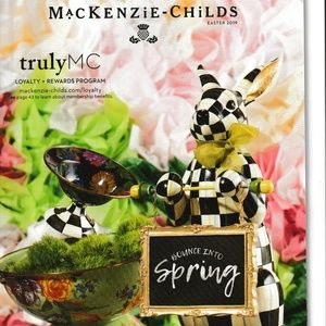 MacKenzie Childs Easter 2019 Collectibles Magazine